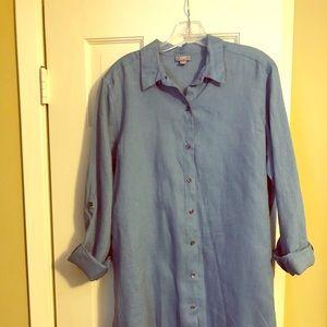 JJill linen dress/tunic